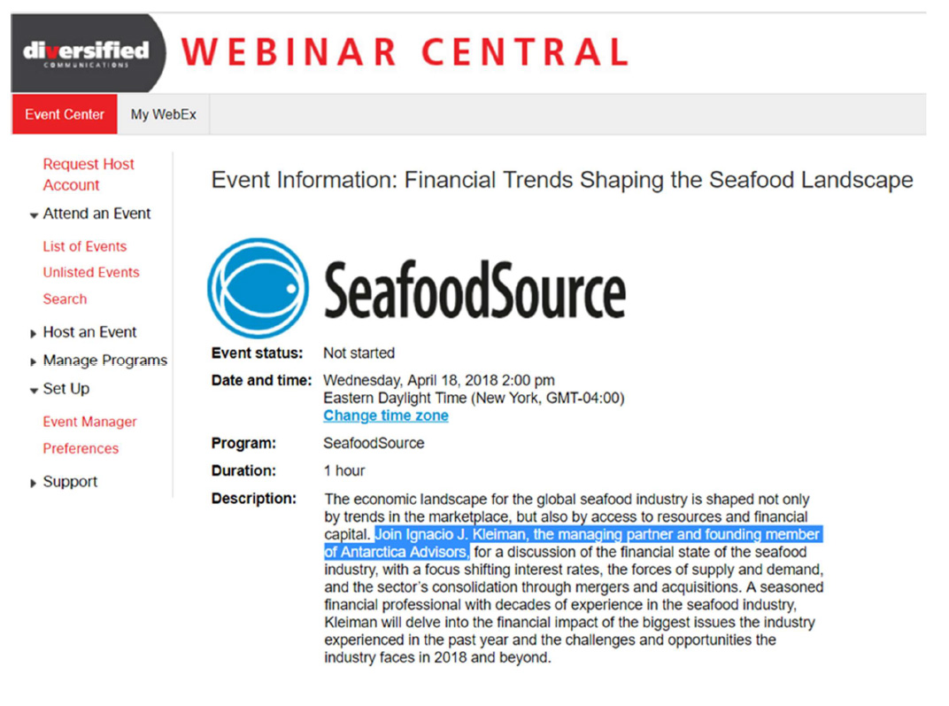 Antarctica Advisors | WEBINAR: Financial Trends Shaping the